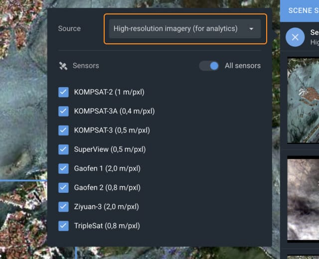 High Resolution Satellite Imagery Available On Landviewer
