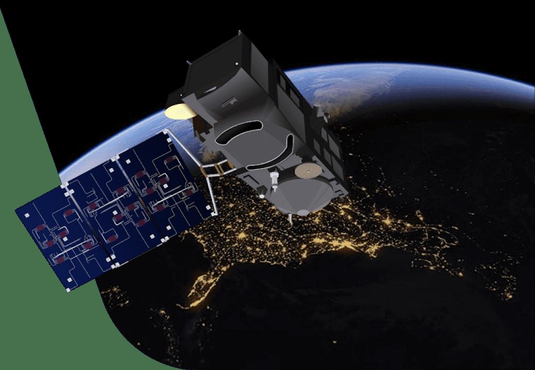 satellite data use in various industries
