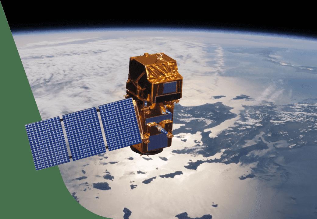 Satellite that provides data for API