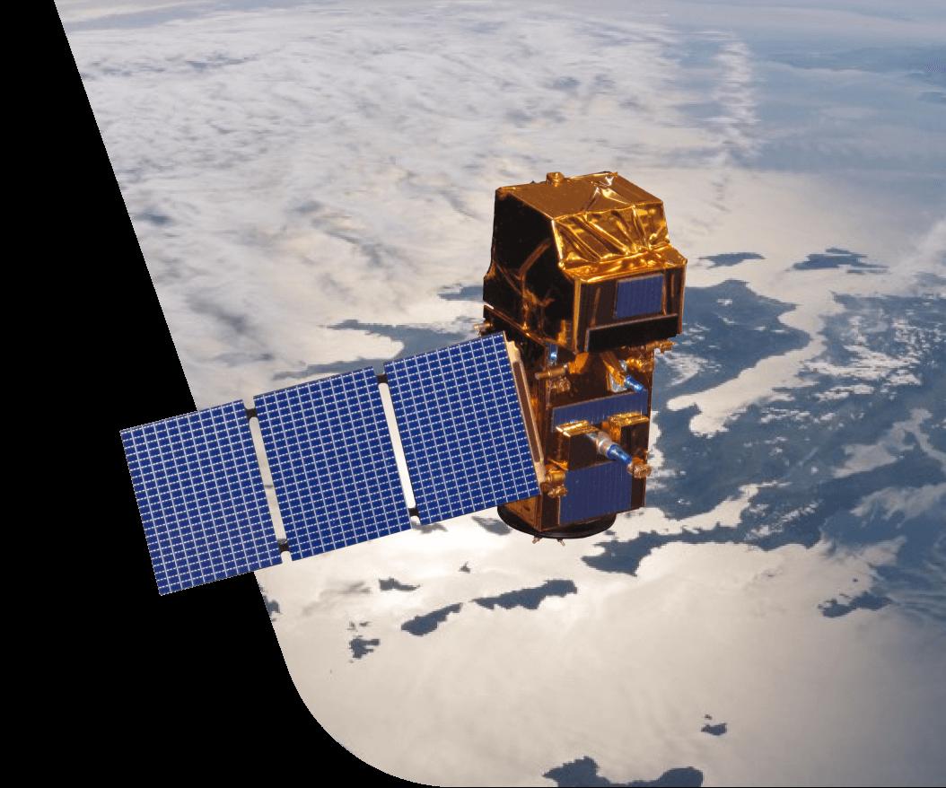 Супутник, який надає дані для API