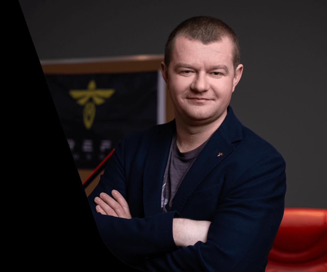 Max Polyakov, un fundador de EOS Data Analytics